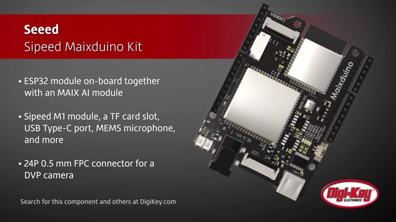 Seeed Sipeed Maixduino Kit | Digi-Key Daily