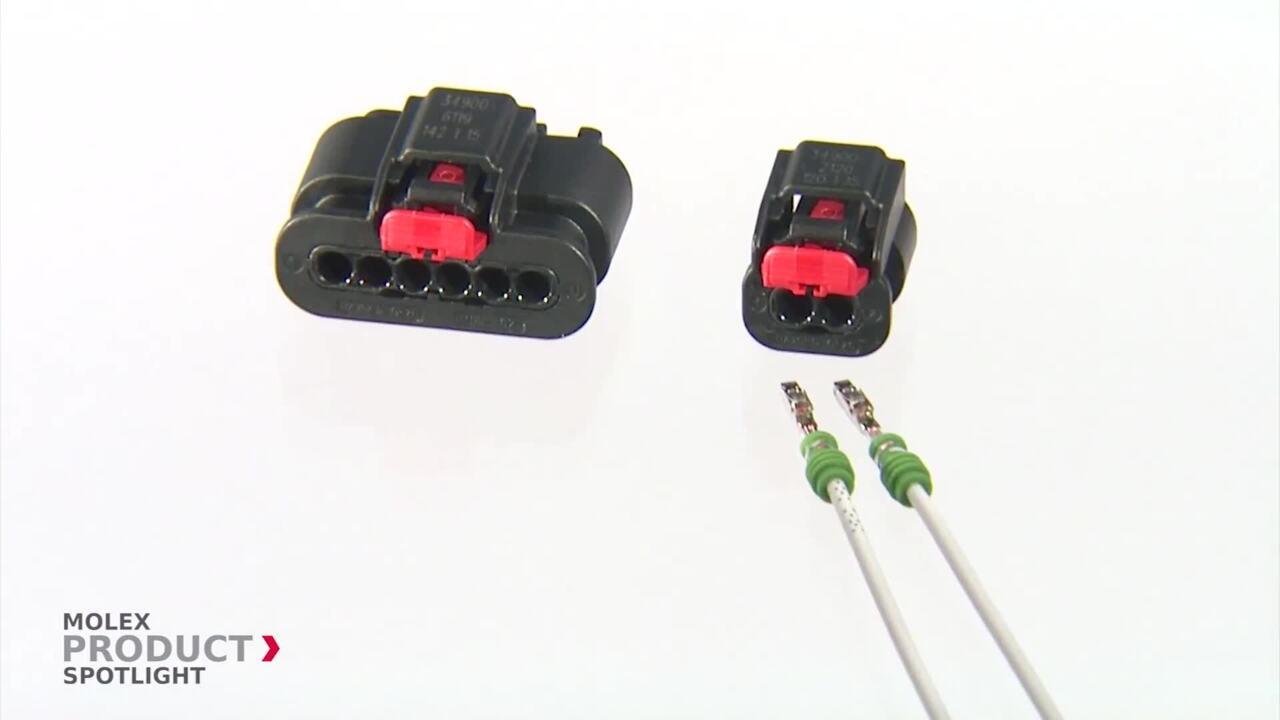 Molex - Product Spotlight - MXP120™ Sealed Connector System