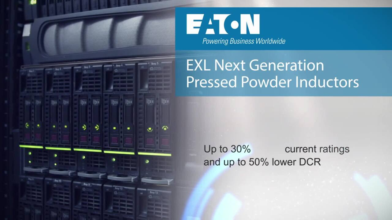 EXL High Performance Pressed Powder Inductors