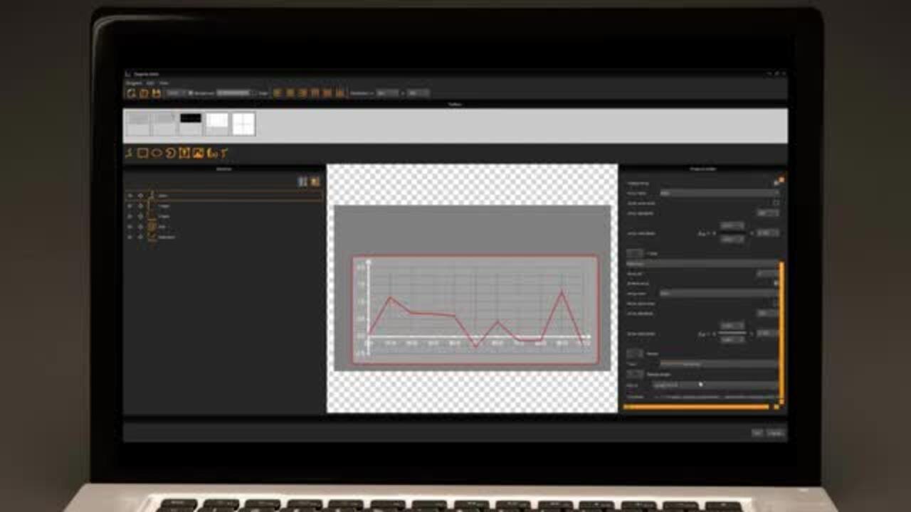 uniTFTDesigner Diagram Editor Overview