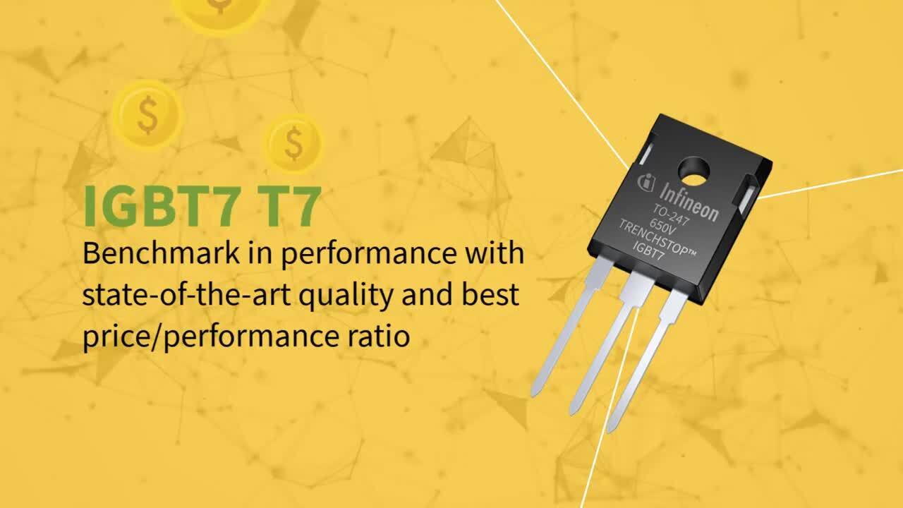 2 minutes on 650 V discrete IGBT7 T7 - Infineon Technologies