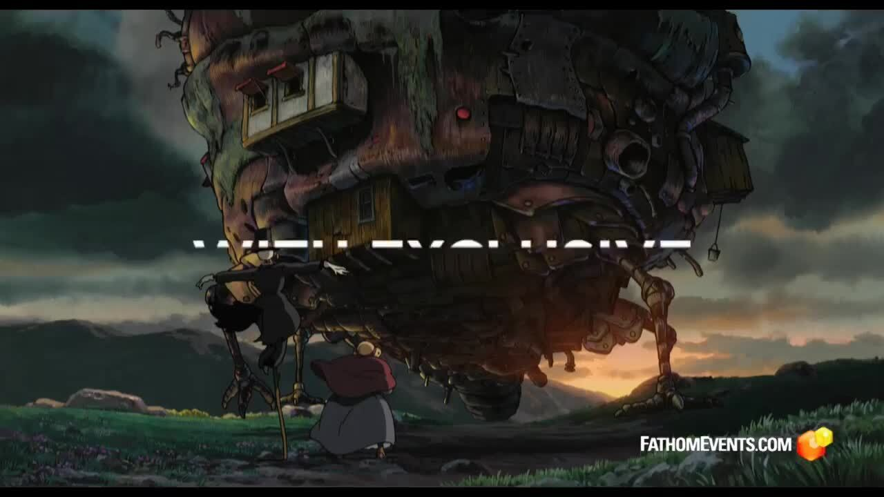 Play trailer for Howls Moving Castle - Studio Ghibli (2021)