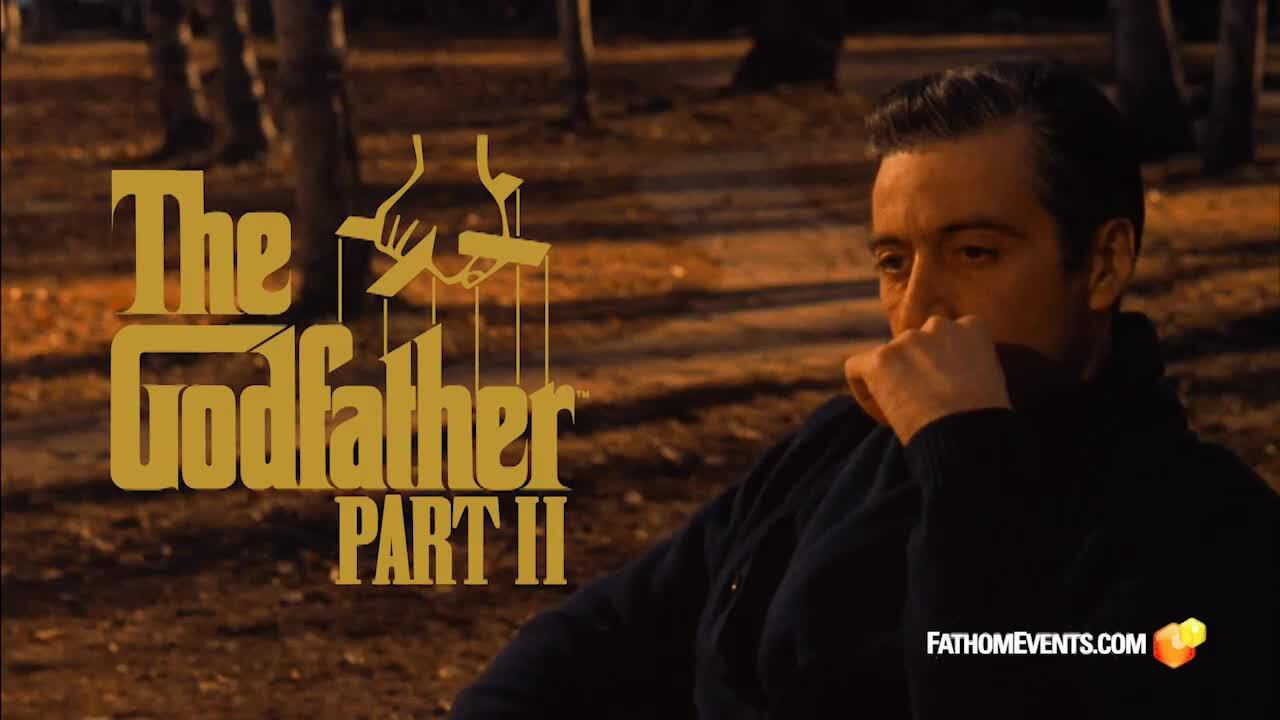 Play trailer for The Godfather: Part II 45th Anniversary (1974) presented by TCM