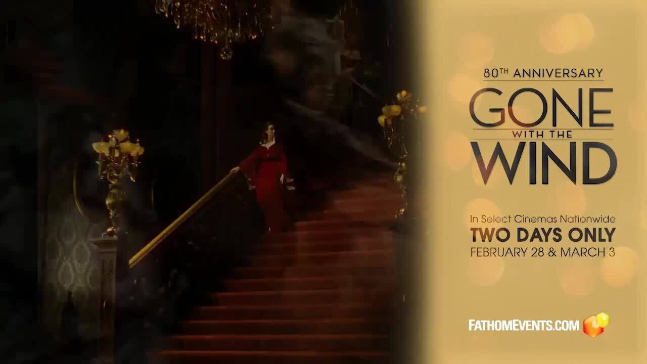 Play trailer for Gone with the Wind 80th Anniversary