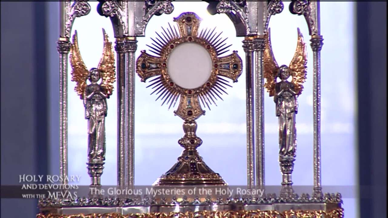 Holy Rosary and Devotions with the Franciscan Missionaries of the Eternal Word - 2020-07-05 - Holy R