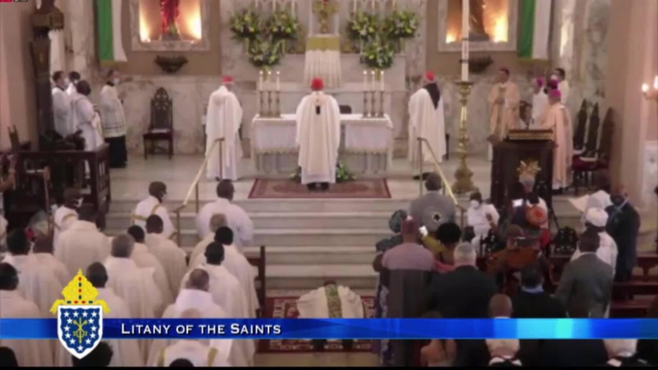2021-04-17 - Mass of Ordination & Installation of Msgr. Jerome Feudjio A