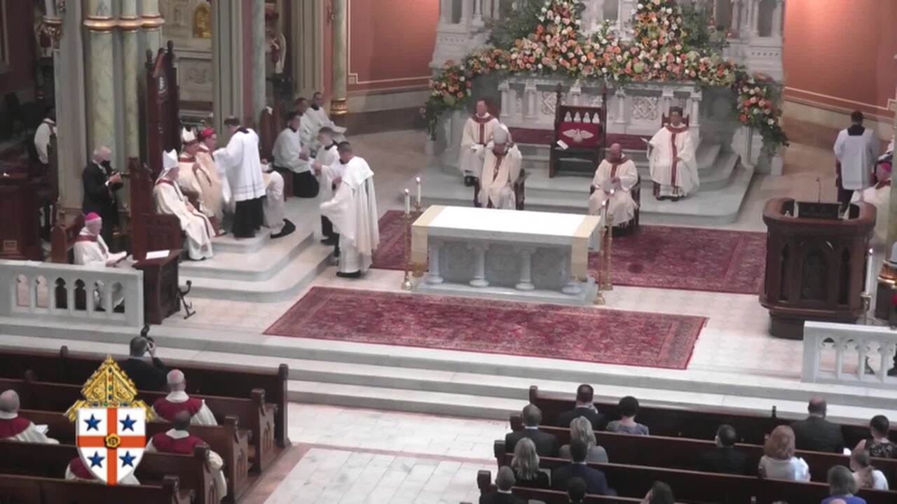 2020-09-23 - Mass of Ordination and Installation of Reverend Stephen D.