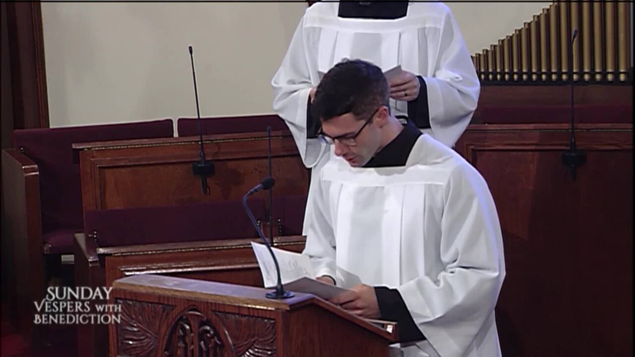 2021-09-26 - Sunday Vespers with Benediction