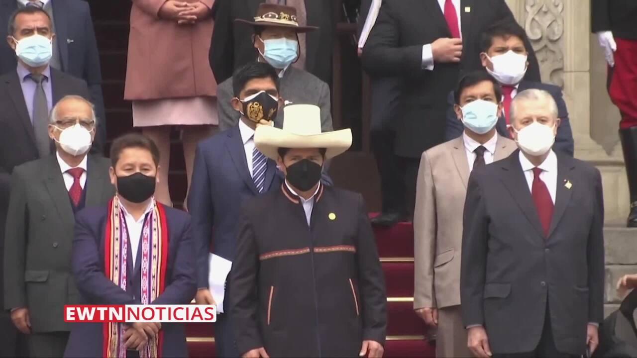 2021-09-14 - Arzobispo pide al Presidente del Perú limpiar su gobierno de vínculos con el terrorismo