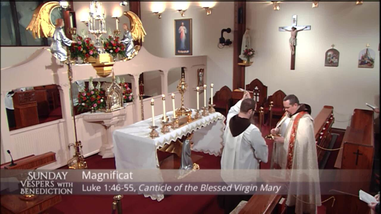 2020-11-15 - Sunday Vespers with Benediction