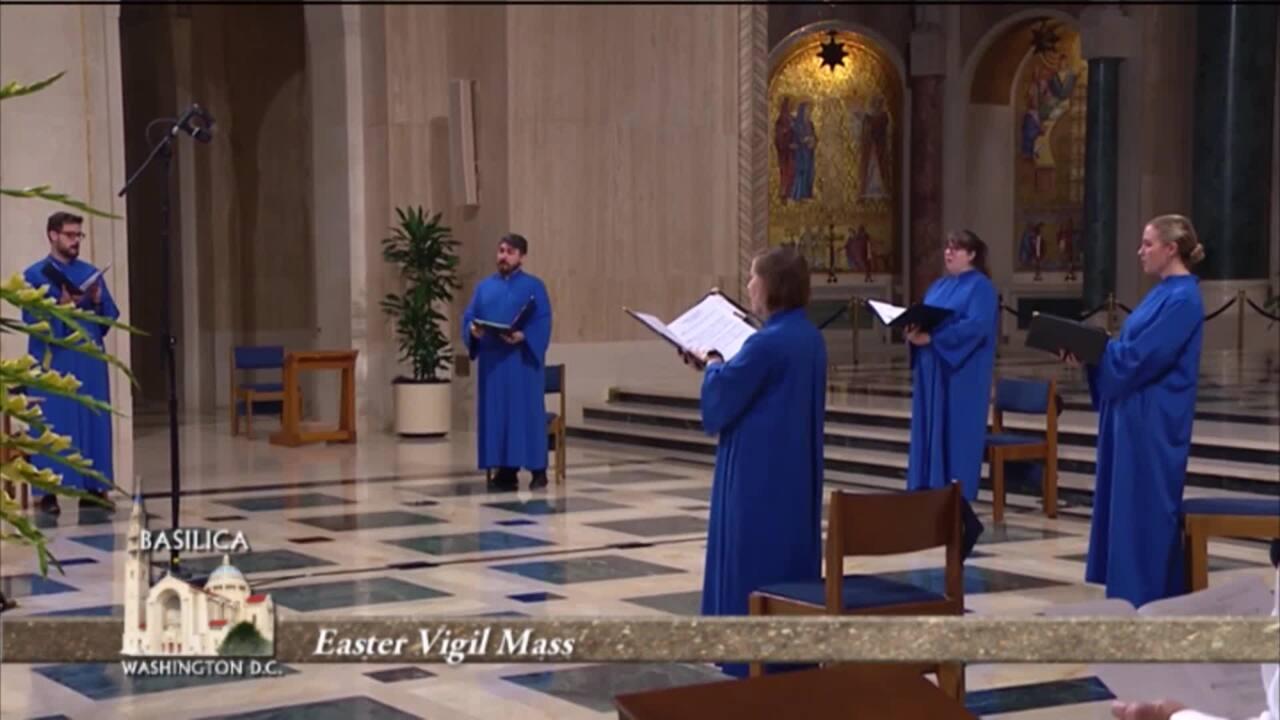 Misa de Vísperas de Resurrección Desde la Basílica la Inmaculada - 2021-04-04 - Misa de Vísperas de