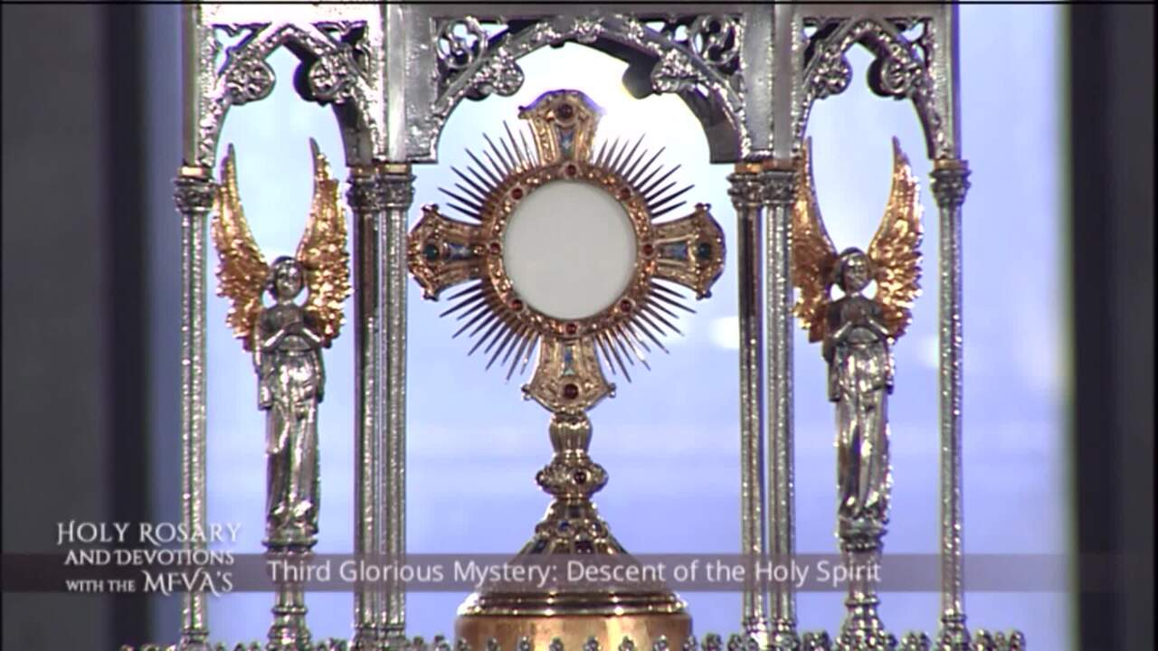 Holy Rosary and Devotions with the Franciscan Missionaries of the Eternal Word - 2020-06-24 - Holy R
