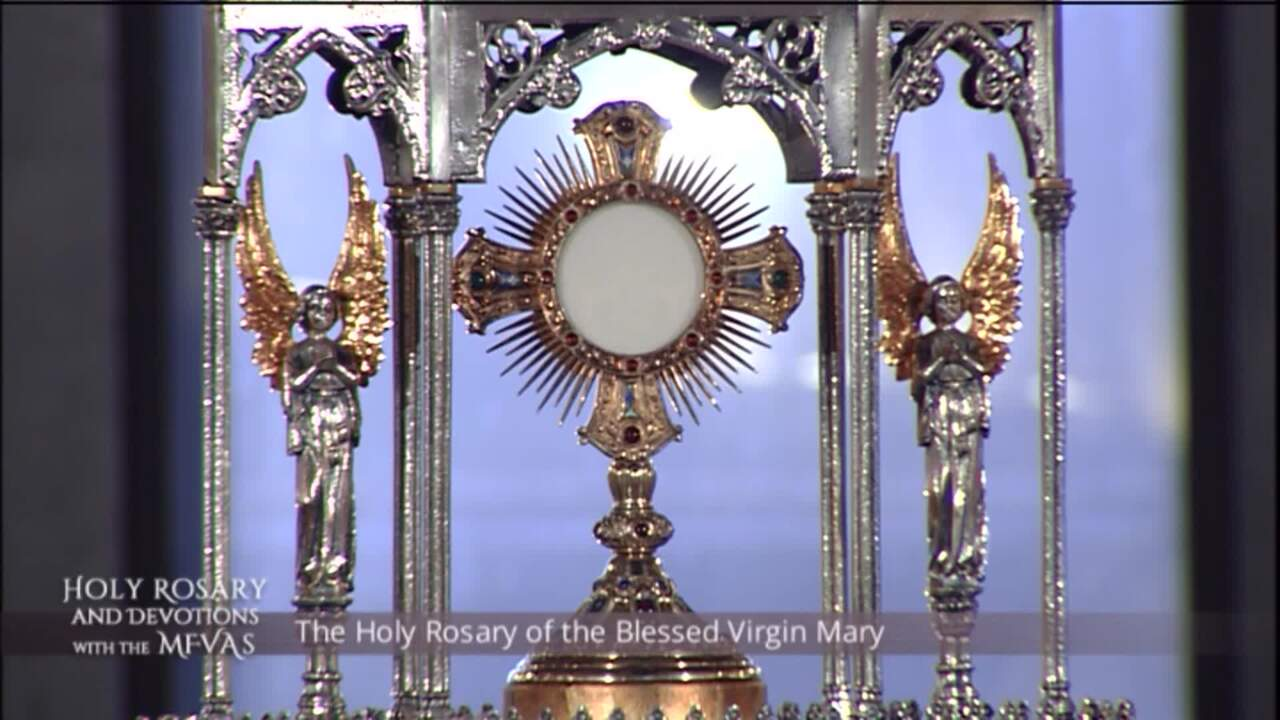 Holy Rosary and Devotions with the Franciscan Missionaries of the Eternal Word - 2020-07-31 - Holy R