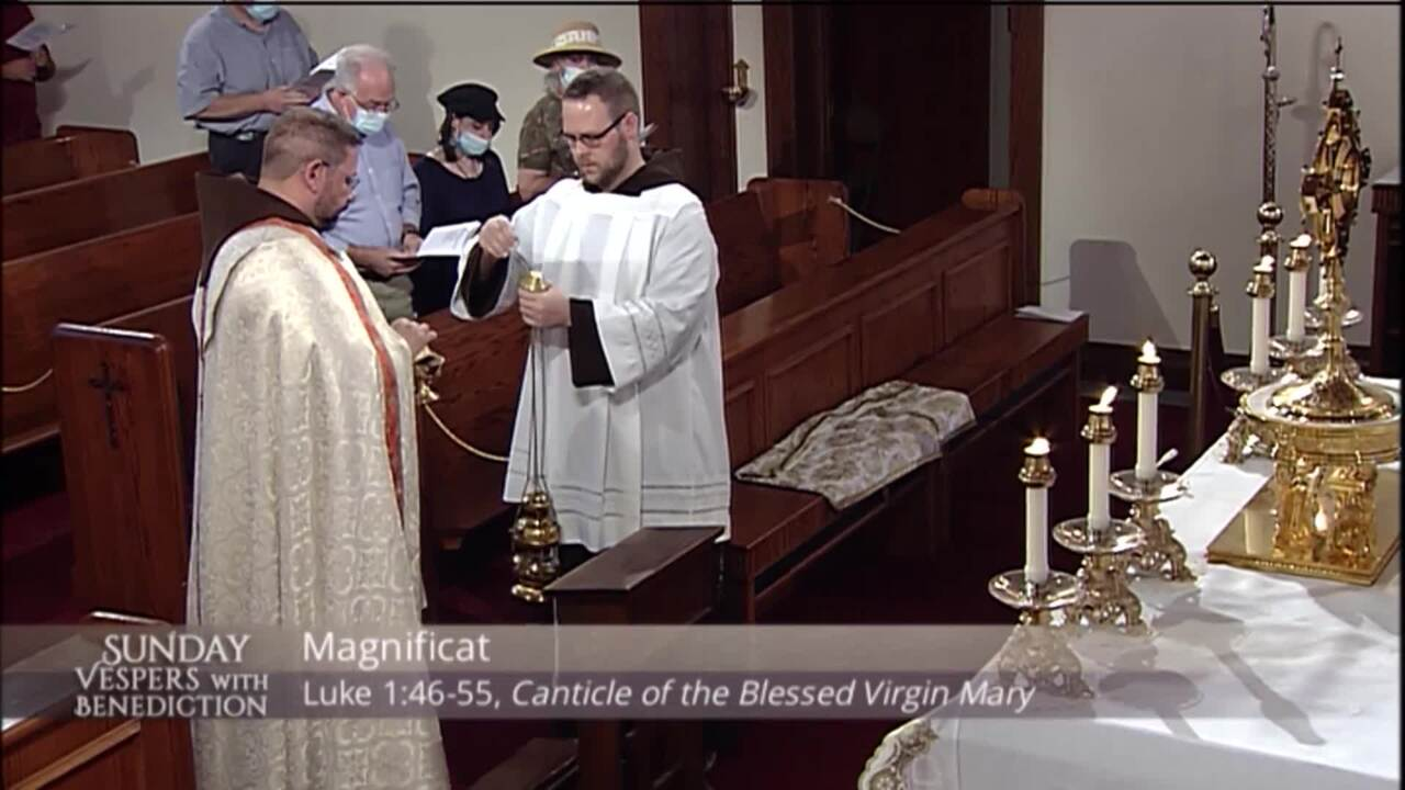 2020-09-20 - Sunday Vespers with Benediction