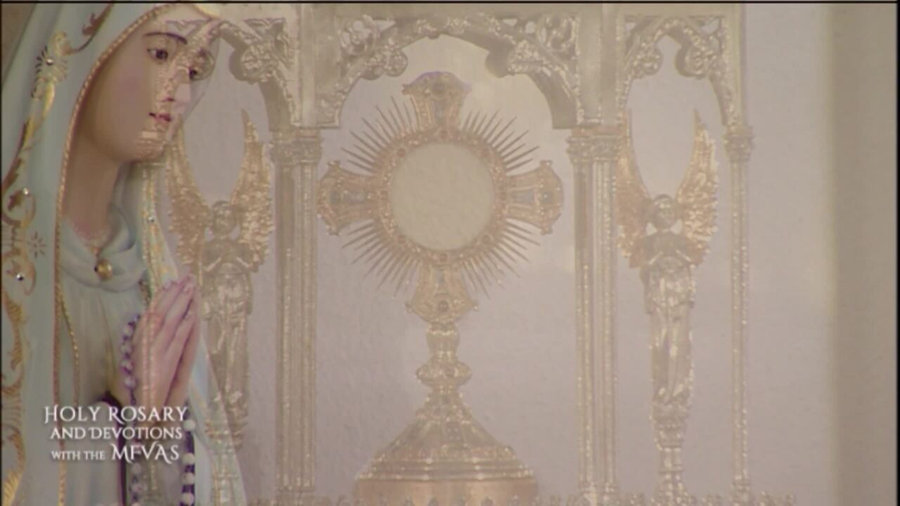 Holy Rosary and Devotions with the Franciscan Missionaries of the Eternal Word - 2020-07-24 - Holy R