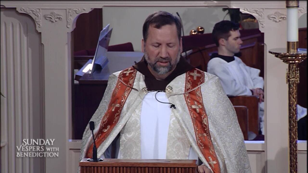 2020-05-31 - Sunday Vespers with Benediction