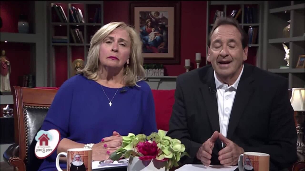 At Home with Jim and Joy - 2020-04-03 - Marcus Grodi Pt. 2