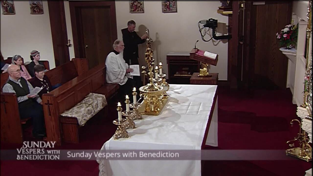 2020-01-26 - Sunday Vespers with Benediction