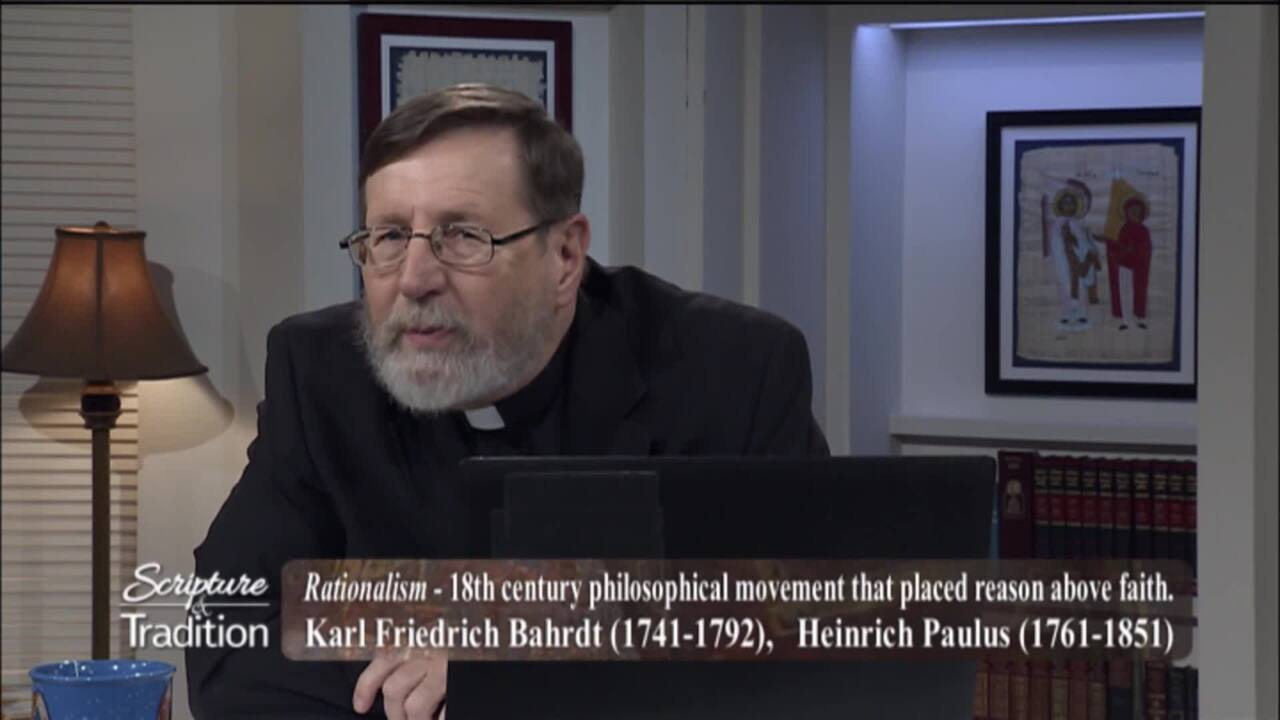 Scripture and Tradition with Fr. Mitch Pacwa - 2020-08-04 - 08/04/2020 the Eucharist Pt. 23