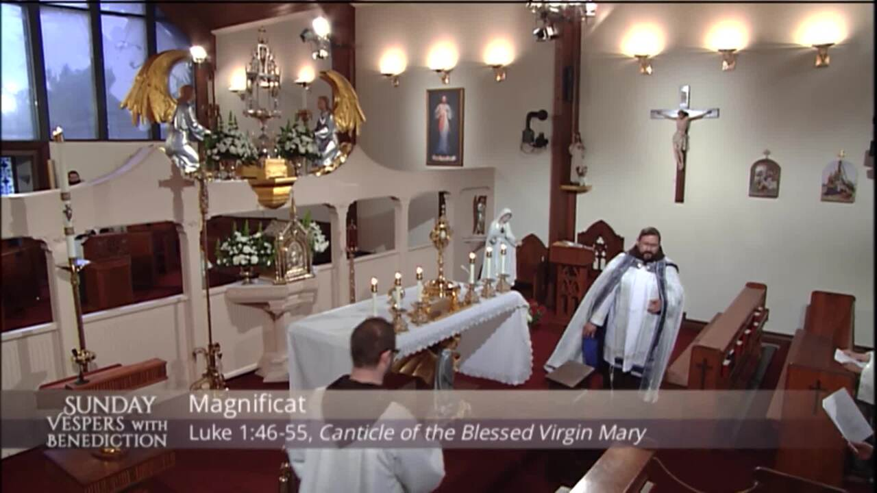 2021-05-02 - Sunday Vespers with Benediction
