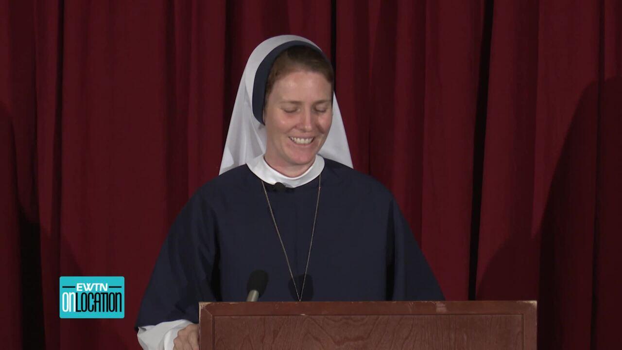 2020-10-12 - Sister Bethany Madonna at Birmingham Eucharistic Congress