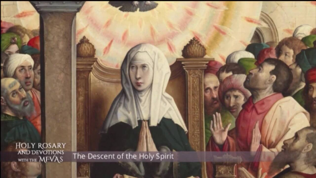 Holy Rosary and Devotions with the Franciscan Missionaries of the Eternal Word - 2021-04-09 - Holy R