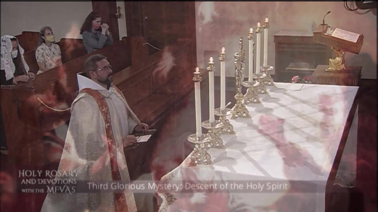 Holy Rosary and Devotions with the Franciscan Missionaries of the Eternal Word - 2020-08-02 - Holy R