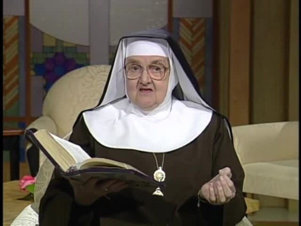Mother Angelica Live Classic - 1997-11-04 - How To Read The Bible