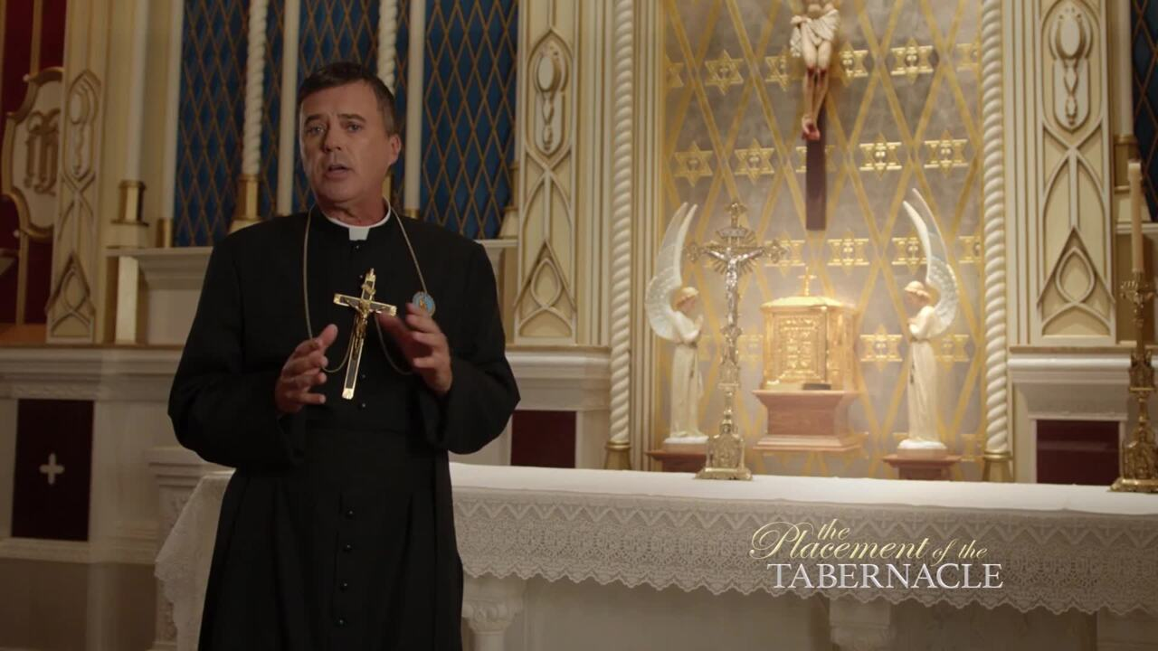 In Defense of the Eucharist with Father Wade Menezes, CPM - Proper Placement of the Tabernacle