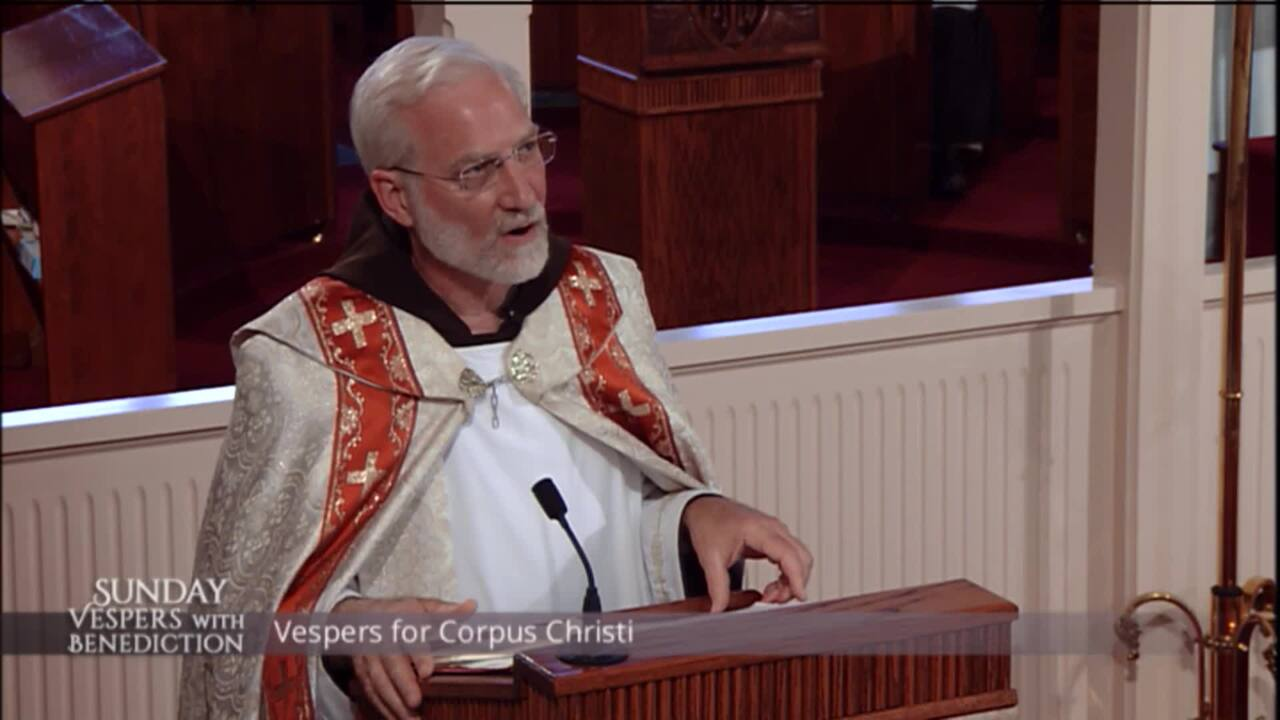 2020-06-14 - Sunday Vespers with Benediction