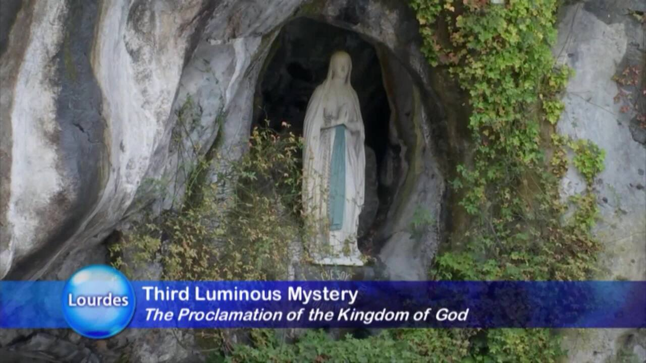 HOLY ROSARY FROM LOURDES - 2021-01-14