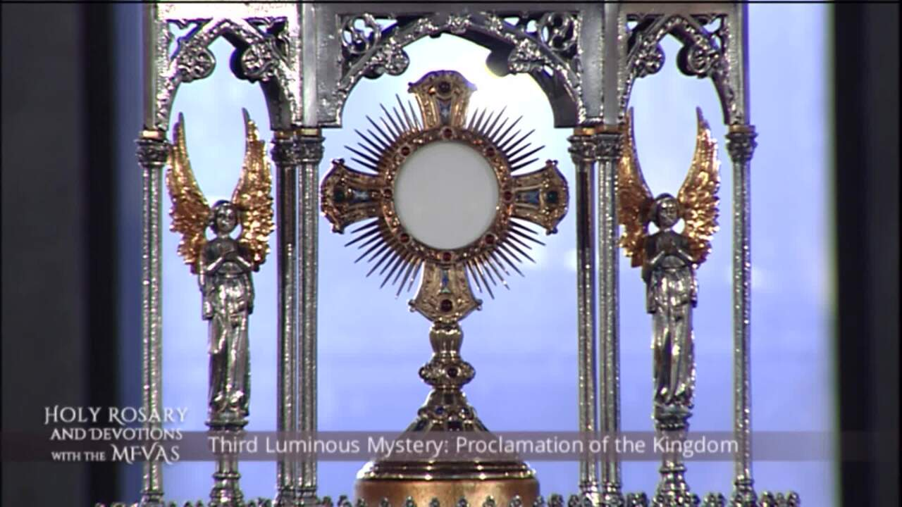 Holy Rosary and Devotions with the Franciscan Missionaries of the Eternal Word - 2020-08-06 - Holy R