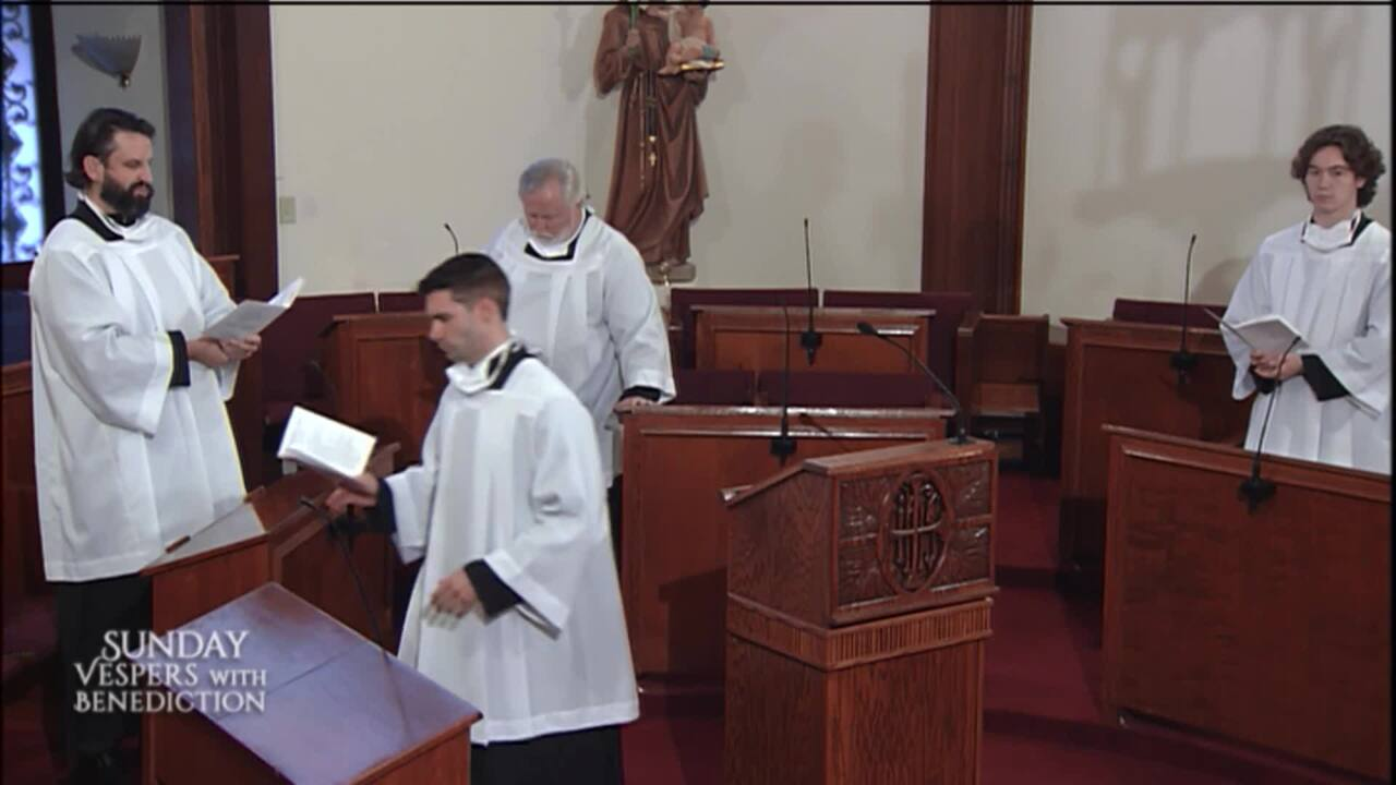 2020-10-25 - Sunday Vespers with Benediction