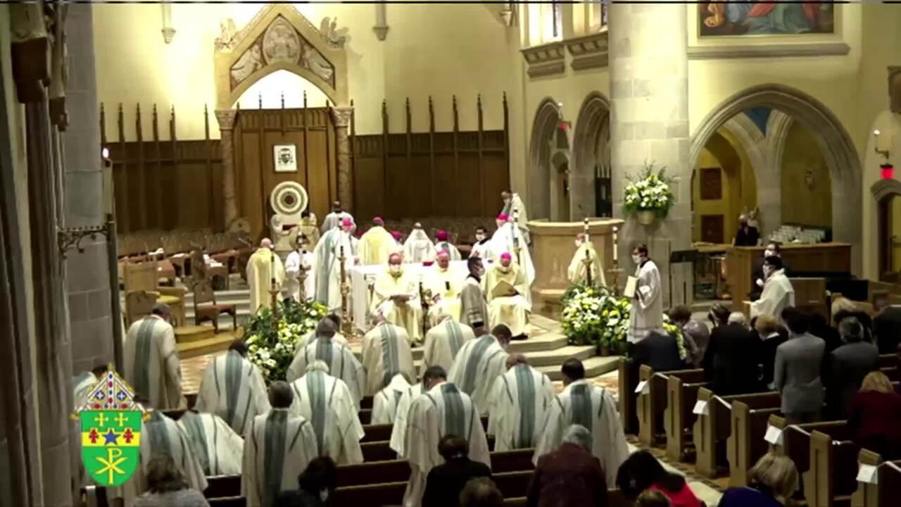 2021-02-11 - Mass of Ordination & Installation of Monsignor Larry J.kuli