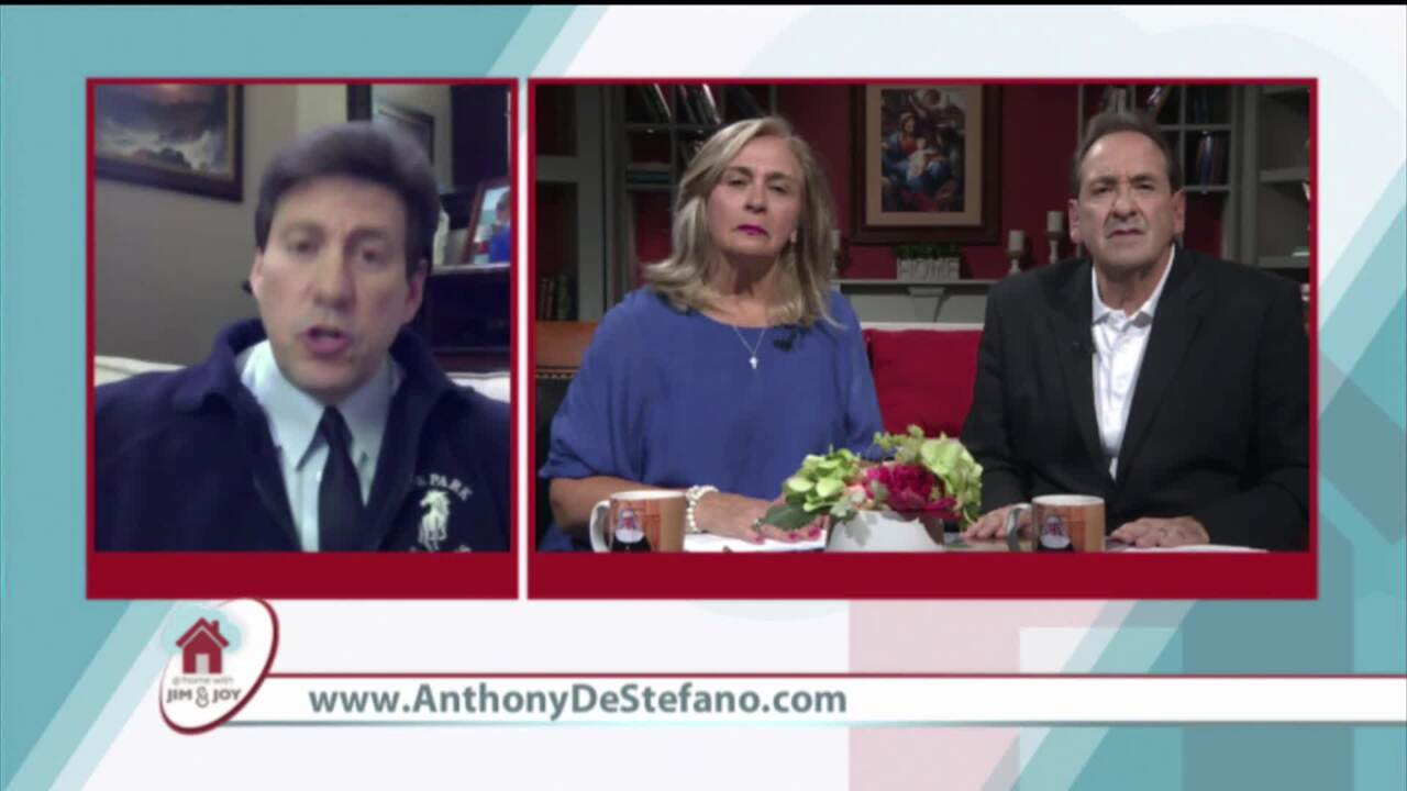 At Home with Jim and Joy - 2020-07-03 - Anthony Destefano Pt. 2