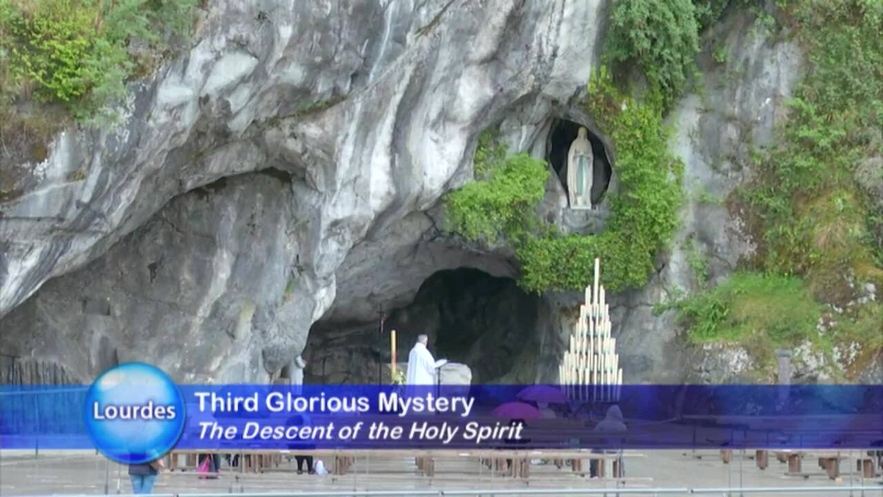 HOLY ROSARY FROM LOURDES - 2021-04-09