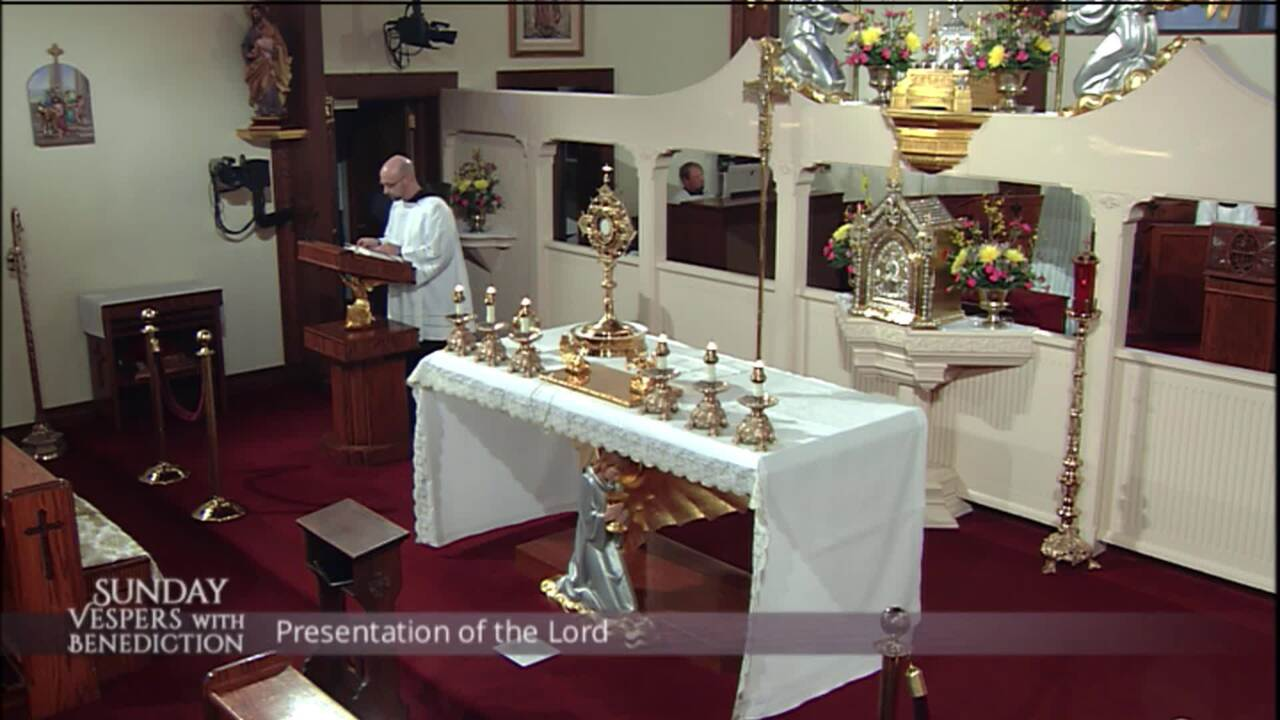 2020-02-02 - Sunday Vespers with Benediction