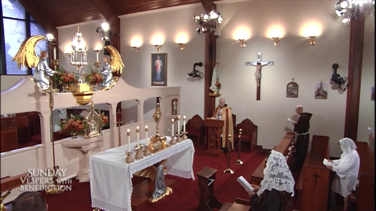 2021-09-19 - Sunday Vespers with Benediction