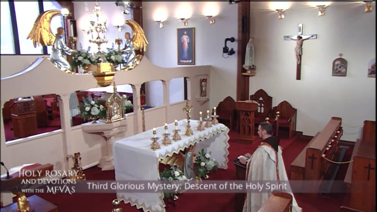Holy Rosary and Devotions with the Franciscan Missionaries of the Eternal Word - 2020-08-05 - Holy R