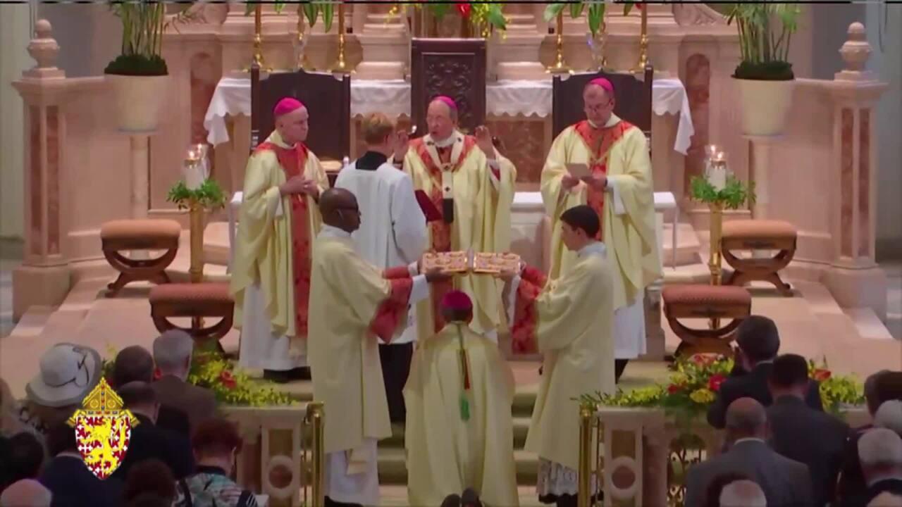 2021-07-15 - Mass of Ordination and Installation of Msgr. William Koenig