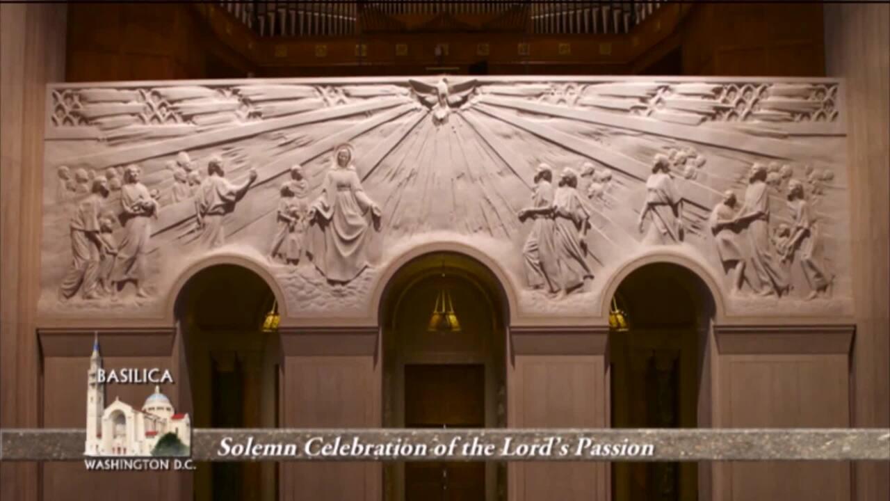 Meditaciones Corales y la Liturgia de la Pasión del Señor, Desde la Basílica de la Inmaculada Concep