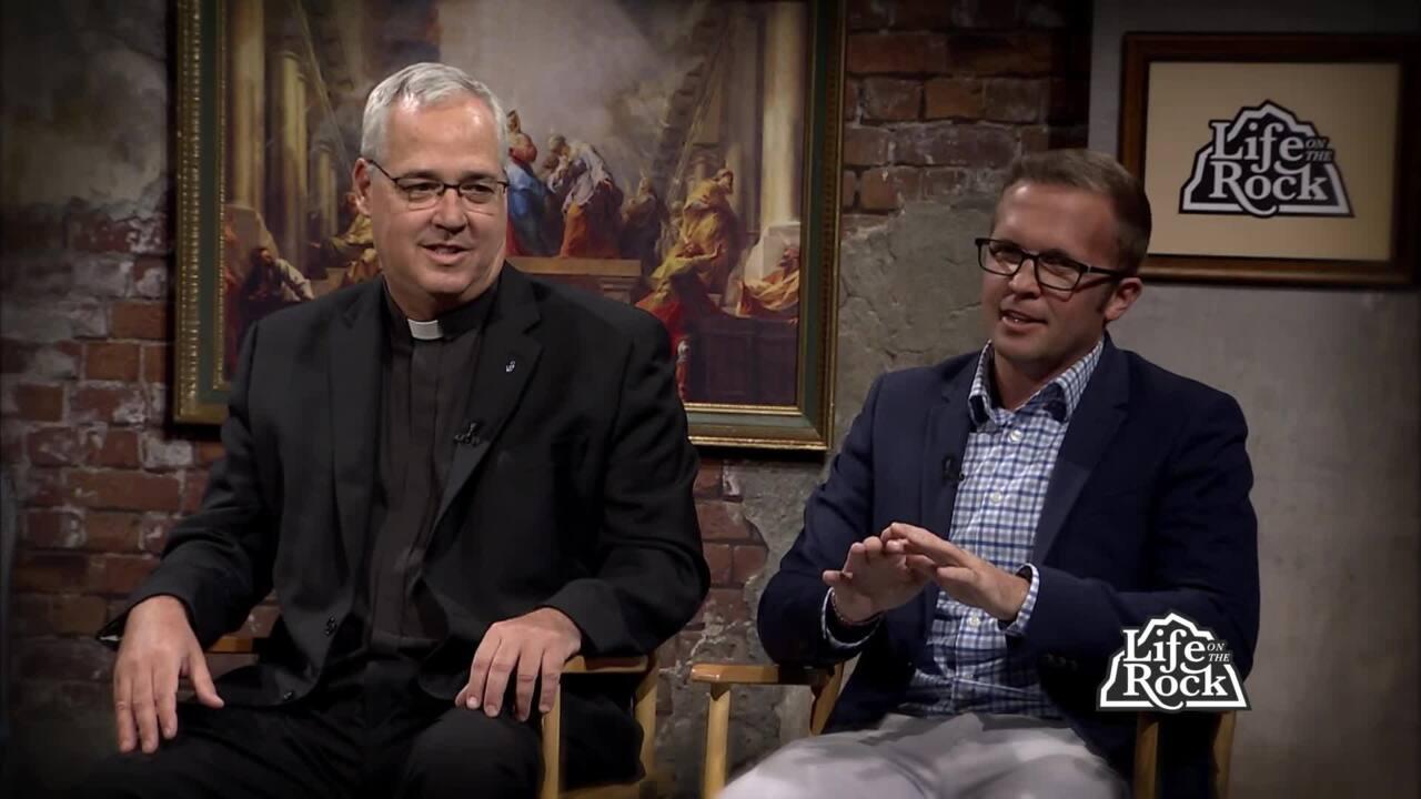 2021-10-10 - Fr. Richard Hermes, Sj and Jimmy Mitchell Pt. 1