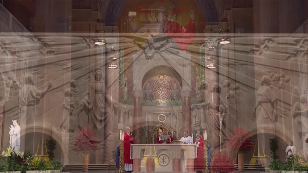 Solemn Mass of Pentecost 2021