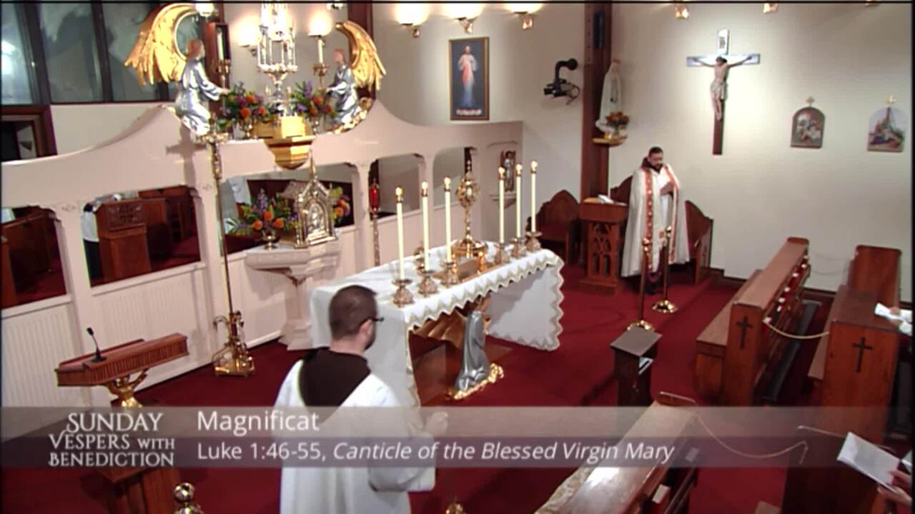 2020-11-08 - Sunday Vespers with Benediction