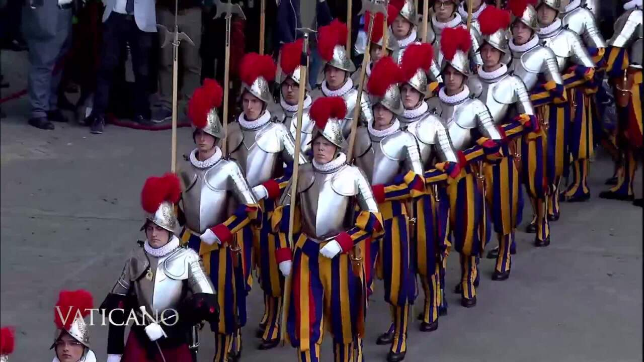 2020-11-15 - The Papal Guards & Pontificate of St. John Paul Ii in Photographs