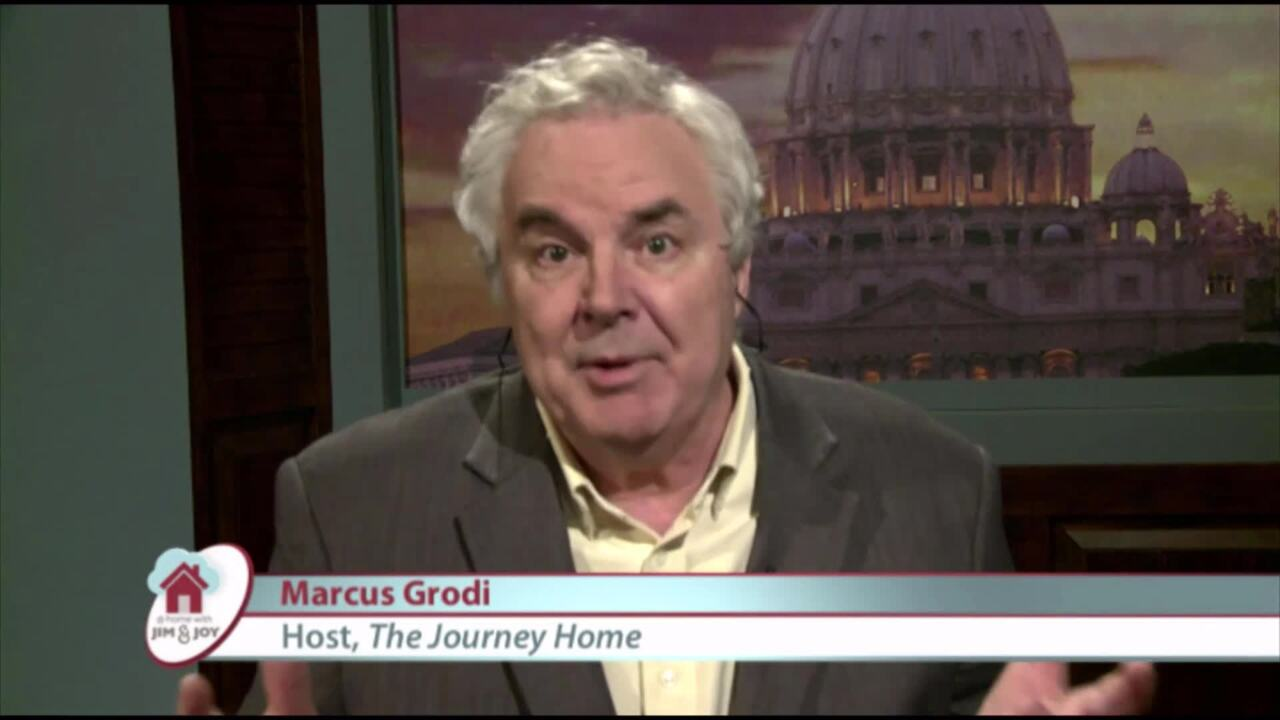 At Home with Jim and Joy - 2020-04-01 - Marcus Grodi Pt. 1