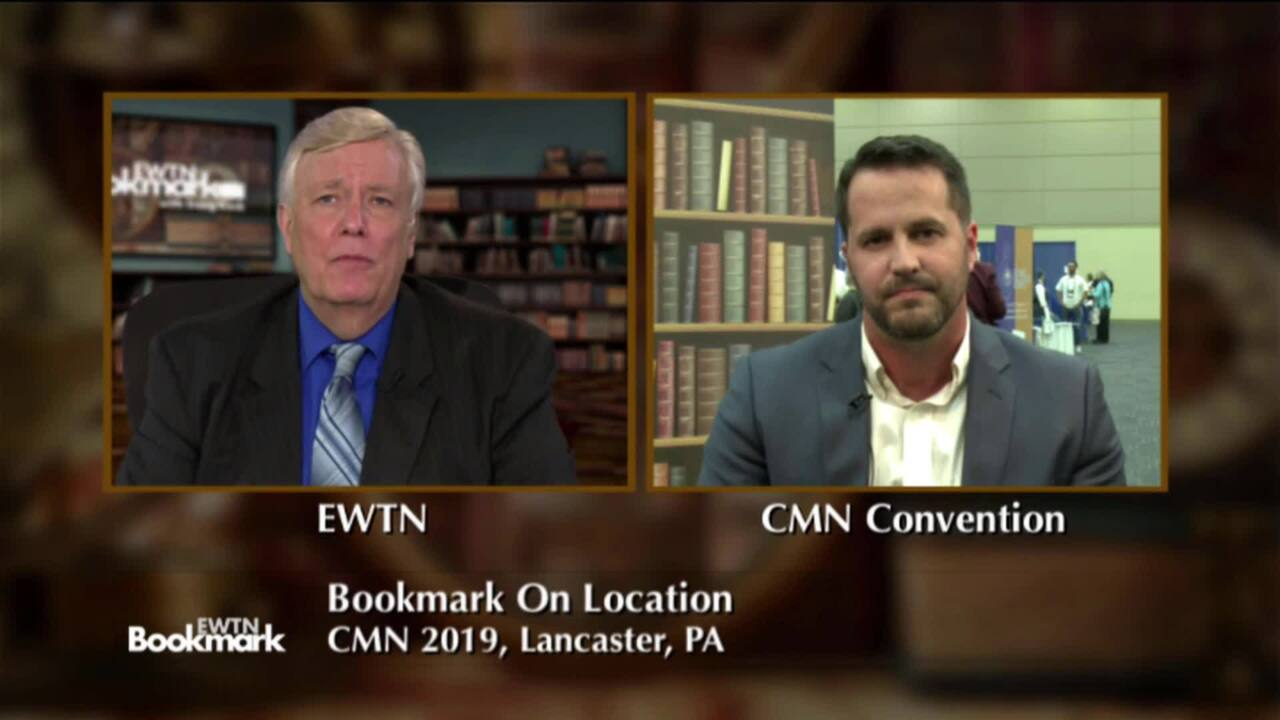 EWTN Bookmark - 2020-03-29 - Give Up Worry for Lent. 40 Day to Finding Peace in Christ and Still Adm