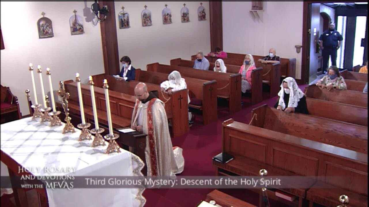 Holy Rosary and Devotions with the Franciscan Missionaries of the Eternal Word - 2020-07-26 - Holy R