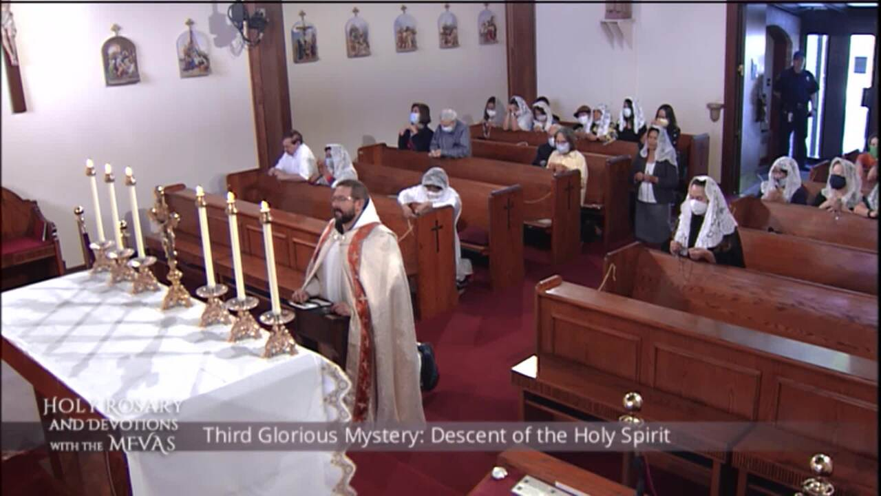 Holy Rosary and Devotions with the Franciscan Missionaries of the Eternal Word - 2020-09-13 - Holy R