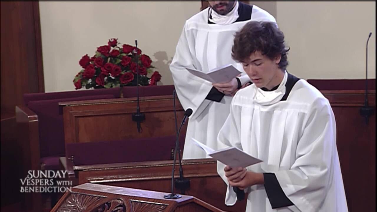 2020-07-26 - Sunday Vespers with Benediction